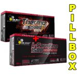 Olimp Thermo SPEED [120 kaps.] + L-CARNITINE 1500 [120 kaps.] + PILLBOX - olimp-thermo-speed-60kap-lcarnitine-1500-60kap-pillbox.jpg